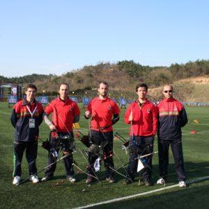 2007, Ulsan, Coreia – Taça do Mundo