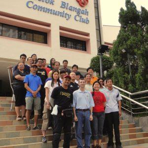 2012, Singapura – Curso de Treinadores WA