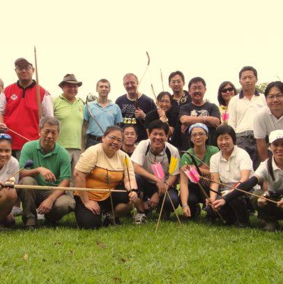 2012, Singapura – Workshop de Tiro com Arco Tradicional